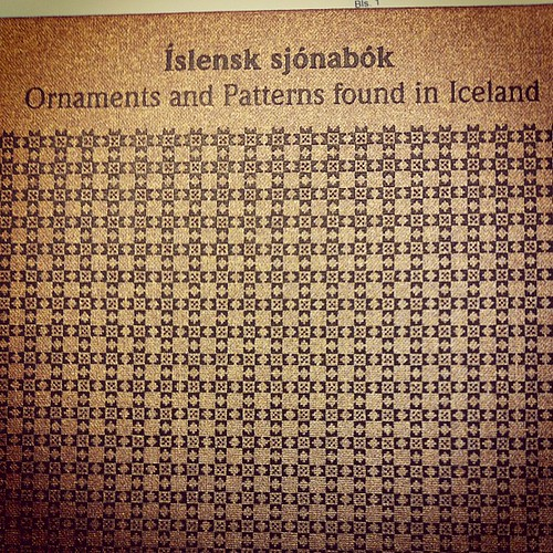 Favorite #book #iceland #old #pattern #stitching