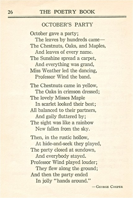 Brought To The Front Of The Stream An Autumn Poem From