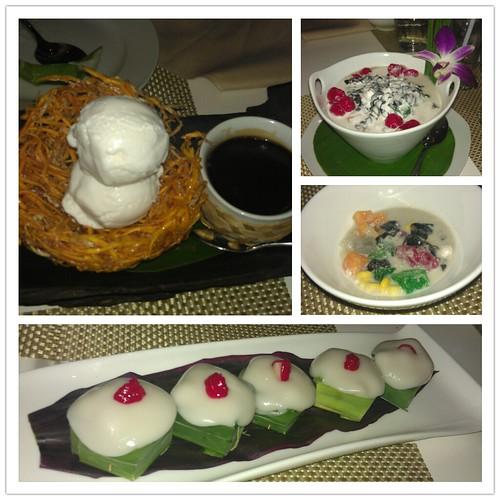 Desserts @ Thai Bistro