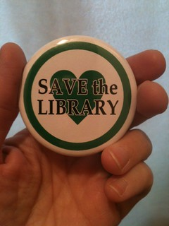 Pic of the day - Save the Library!