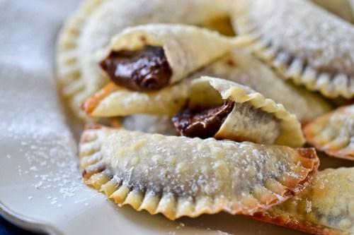 Baked Nutella Ravioli-16