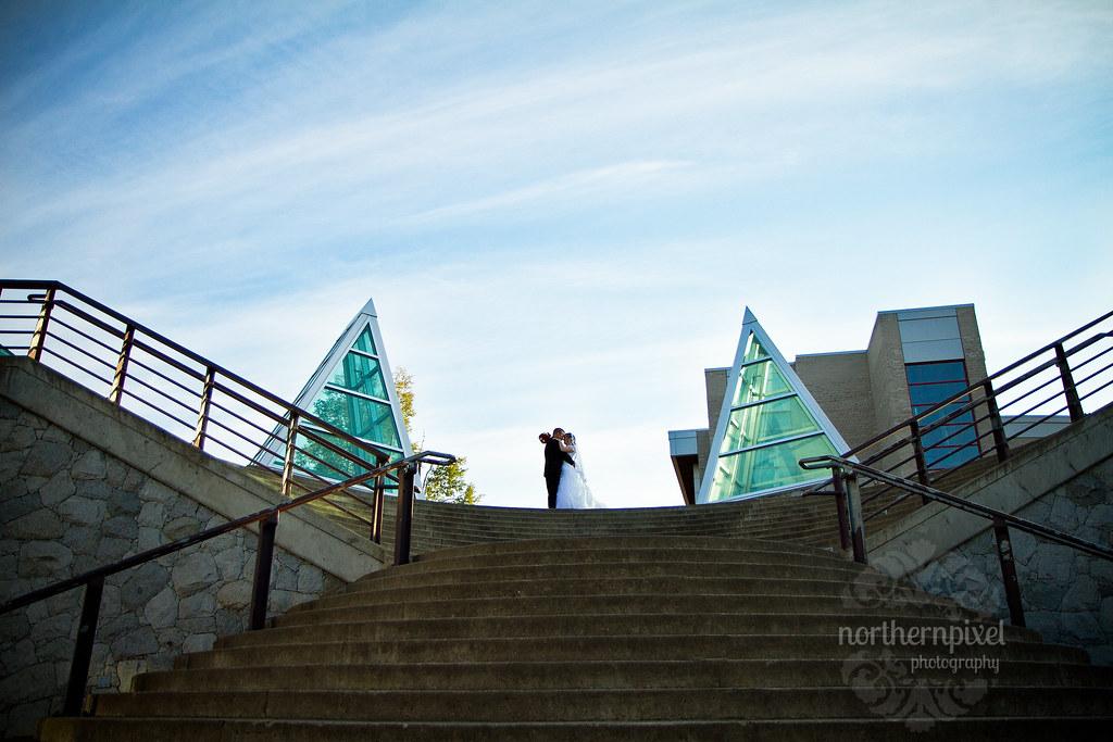 University Northern British Columbia Wedding Photography