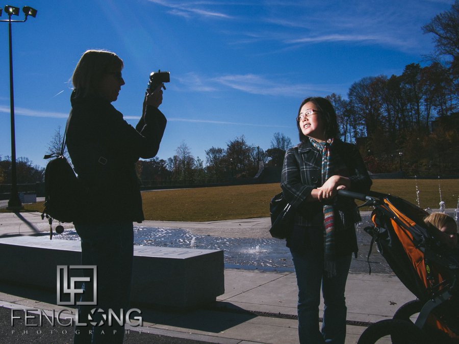 Behind the Scenes | OM-D E-M5 + PocketWizard PLUS II + SB-900 | Family Trip to Piedmont Park