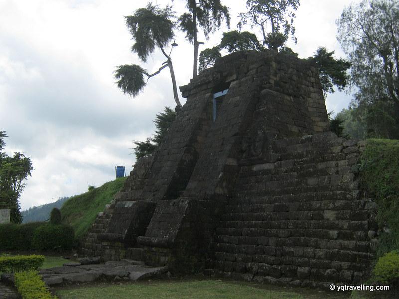 Stairs to Candi Sukuh