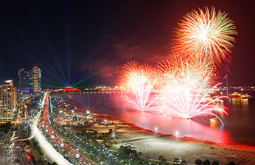 Happy National Day, United Arab Emirates! {explored} by Charn High ISO Low IQ