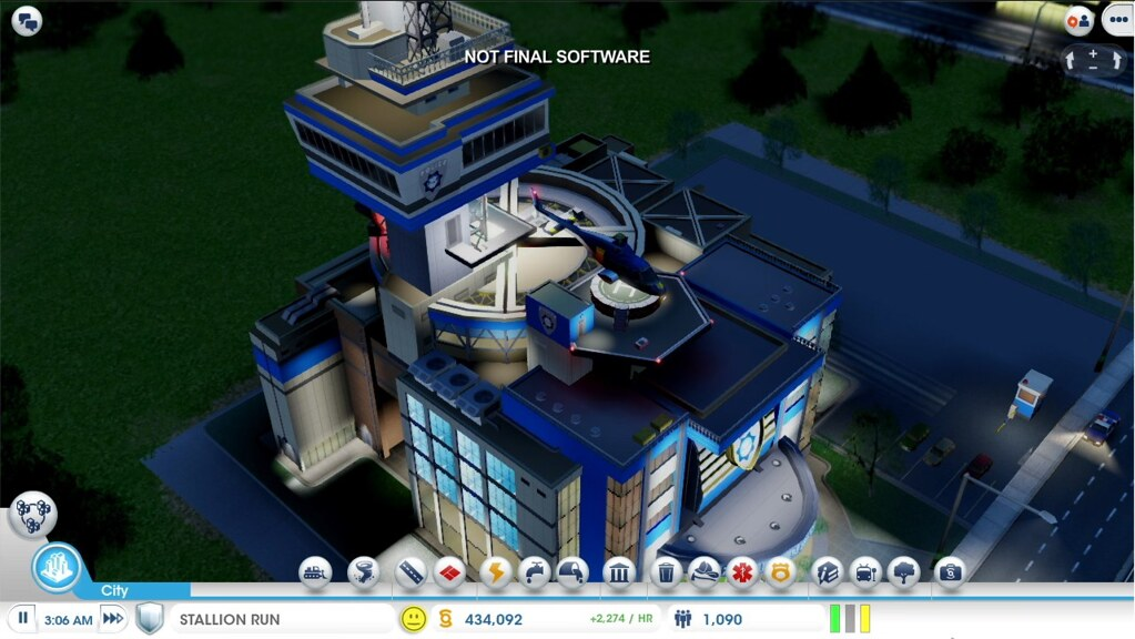 simcity screen 1