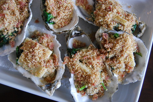 Prebaked oysters