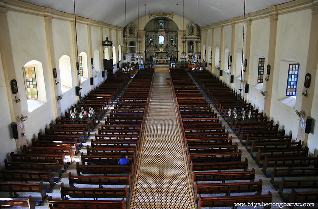 Inside Santa Maria Church