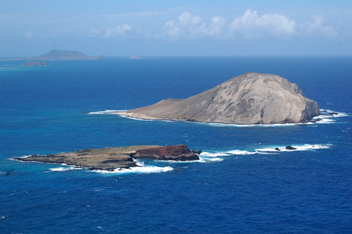 view from Makapuu point