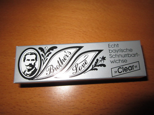 German moustache wax
