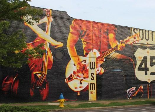 WSM Mural, Selmer TN