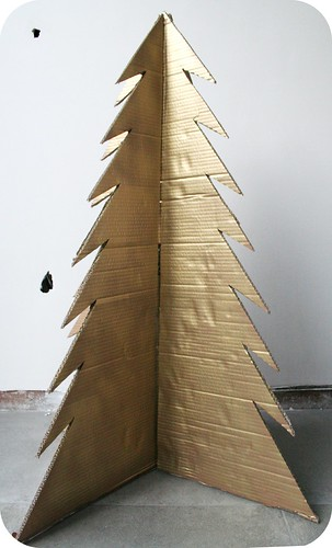 Christboard tree / kerstonboom