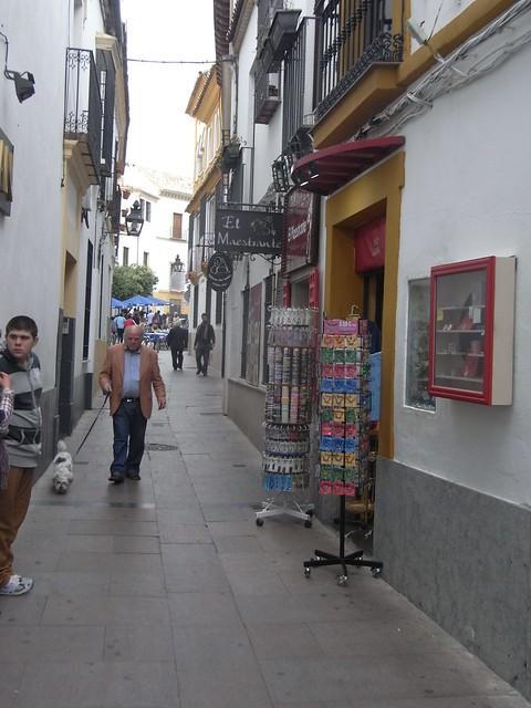 calle Cespedes en Córdoba.