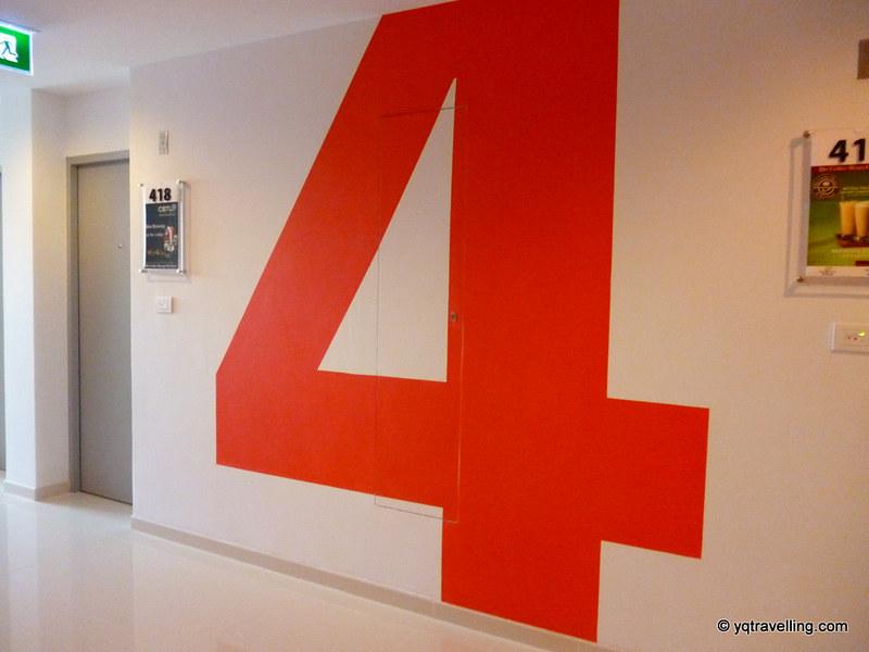 Tune Hotel 4th floor