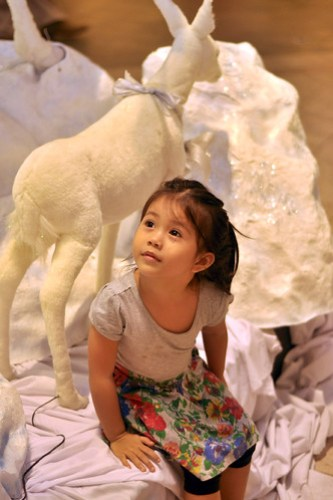 Lia and the Reindeer, Rockwell Powerplant Mall