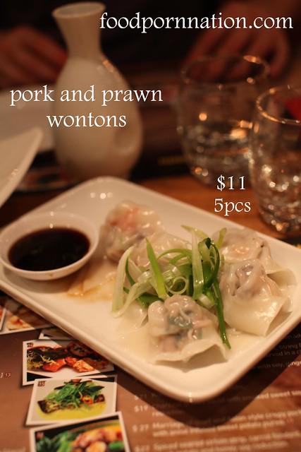 pork and prawn wontons