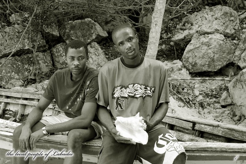 the local people of Labadee