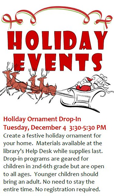 Holiday Ornament Drop-In