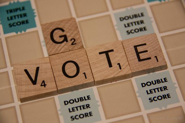 Scrabble - Vote