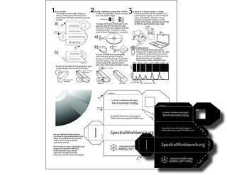 Public Lab: Foldable Spectrometry Starter Kit
