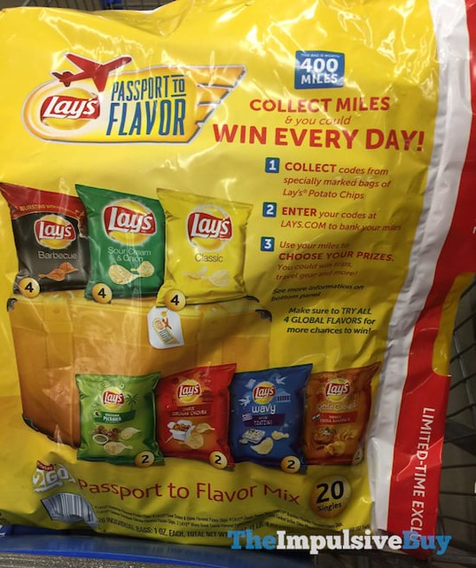 Lay's Passport to Flavor Mix
