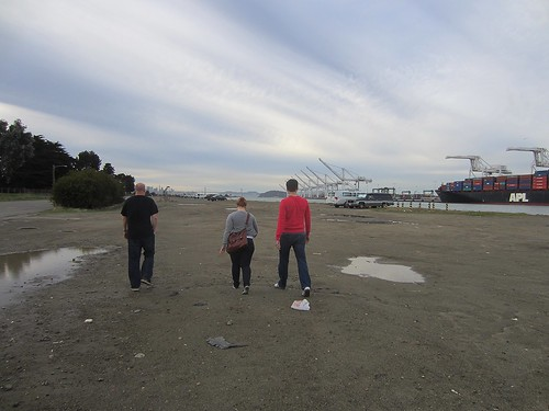 this was supposed to be the last photo found on my camera after we all got murdered on an abandoned naval base in alameda, but then we survived.