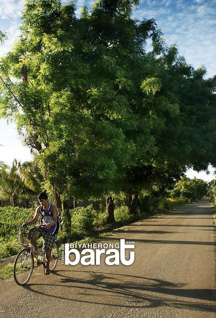 biking to town Madridejos Cebu