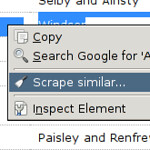 Scraper Extension