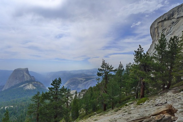 View from Trail Down to Half Dome Junction