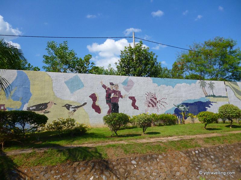 Weird murals