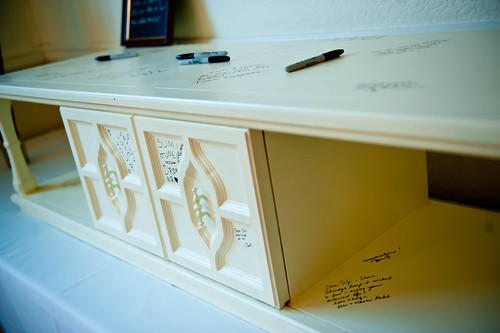 """Coffee table """"guestbook"""""""
