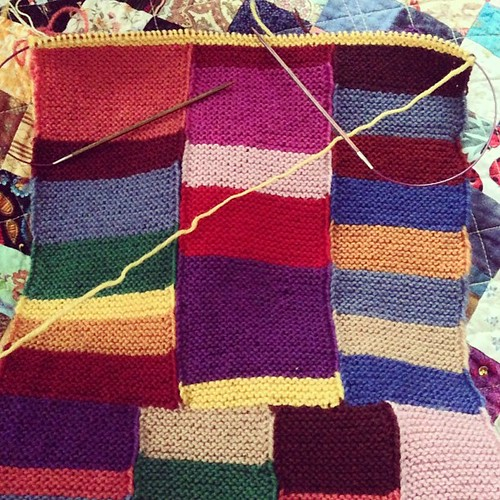 Still knittin'.