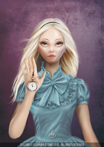 Alice (Cameo Portrait) by Eleland