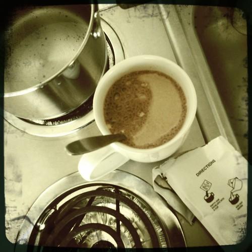 hot chocolate morning