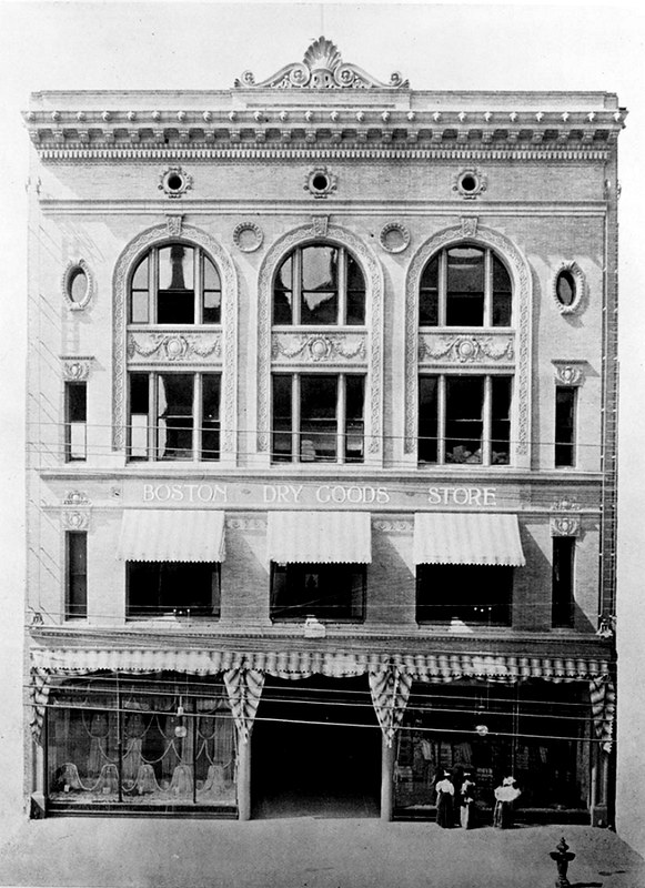 boston dry goods store facade