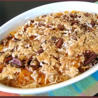 Cooking Up: Sweet Potato Casserole with Coconut