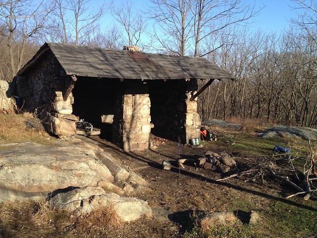 Harriman State Park Shelter