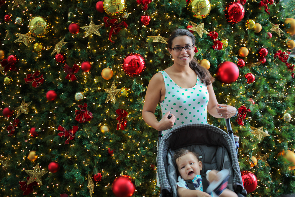 Mommy Baby and the Tree