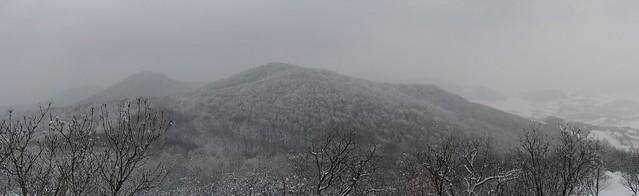 Dealurile Devei - panoramă