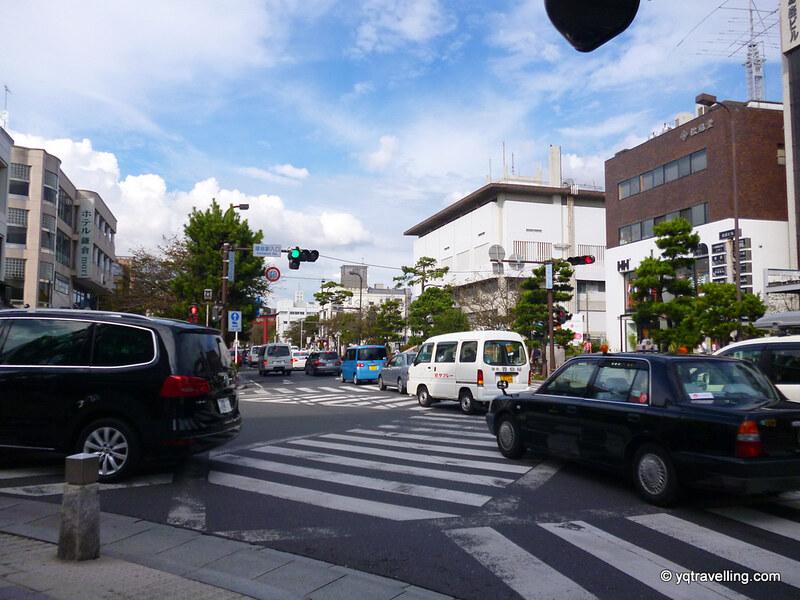 Kamakura traffic