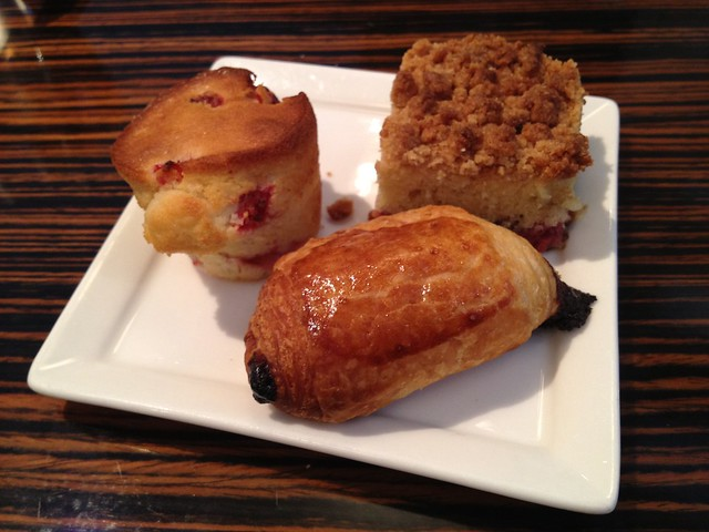 Assorted mini pastries - Twenty Five Lusk