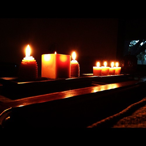 Candles make everyday nicer