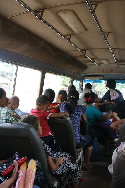 Bus to Buddha Park