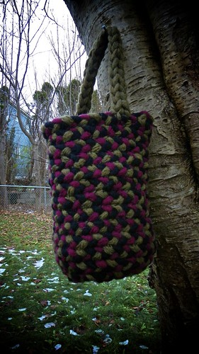 Finger Knit Basket 13