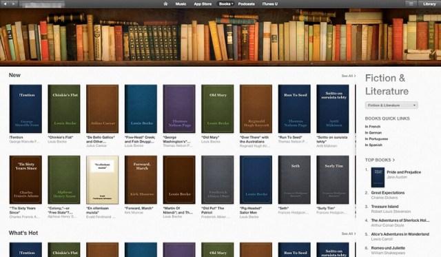 iTunes Store SA - Books