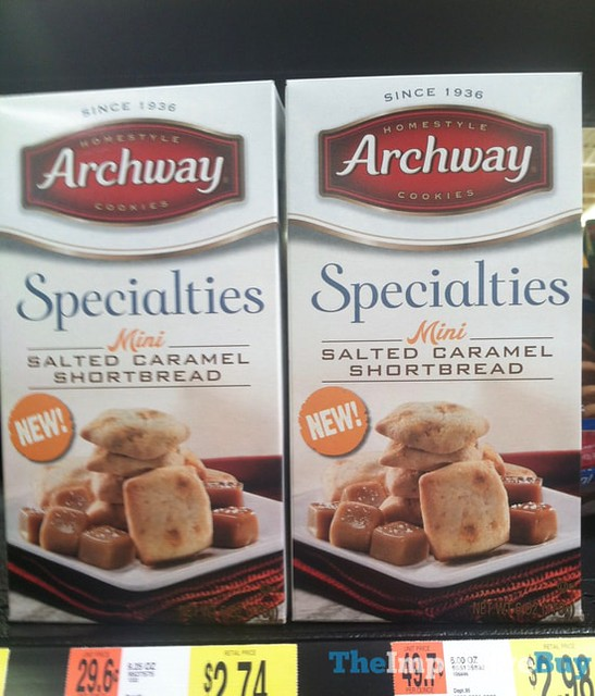 Archway Specialties Mini Salted Caramel Shortbread
