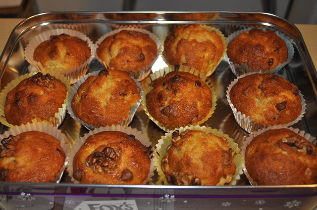 2012-11-04 banana bread muffin