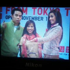 Chito Miranda and Nikki Gil with Earthlingorgeous