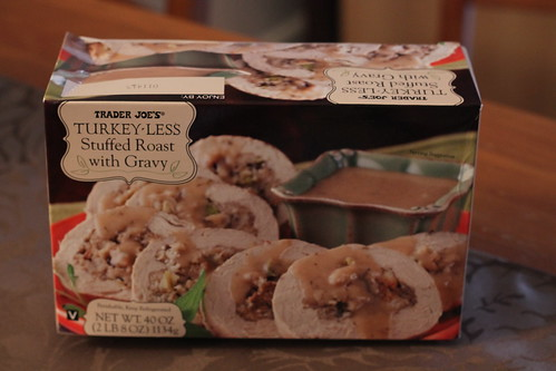 Trader Joe's Turkey-less Stuffed Roast