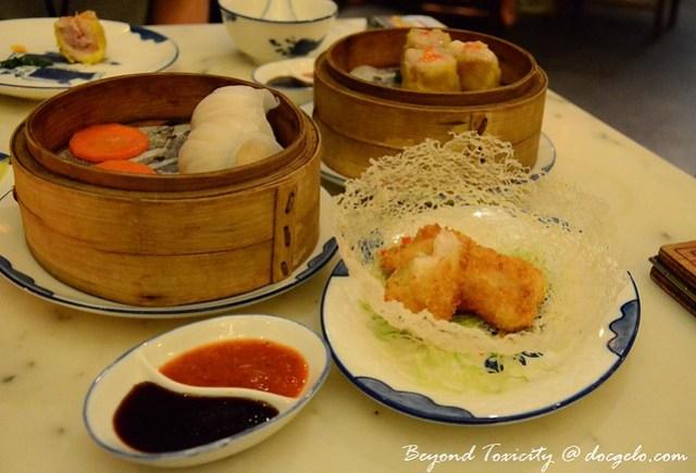 dim sums at luk yu tea house